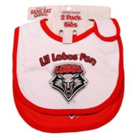 University of New Mexico 2-Pack Infant Bib