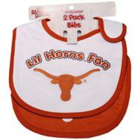 University of Texas 2-Pack Infant Bib