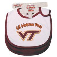 Virginia Tech University 2-Pack Infant Bib