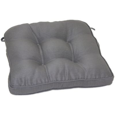 Morocco Chair Pad In Grey