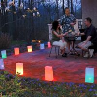 Electric 10-Count Multicolor Luminaria Lantern Kit