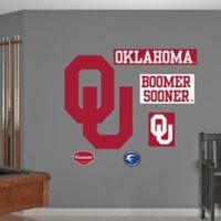 Fathead® University of Oklahoma Logo Wall Graphic