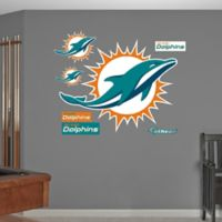 NFL Miami Dolphins Logo Wall Graphic