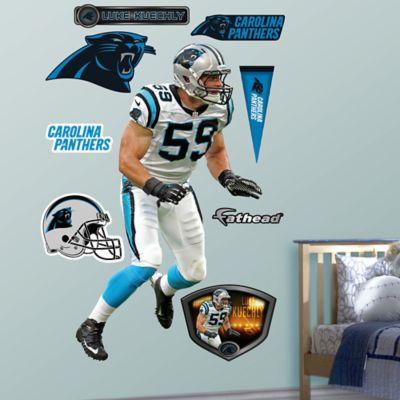 High Quality Fathead® NFL Carolina Panthers Luke Kuechly Away Wall Graphic