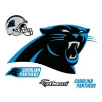 Fathead® NFL Carolina Panthers Logo Wall Graphic