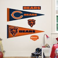 Fathead® NFL Chicago Bears Pennant Junior Wall Graphic
