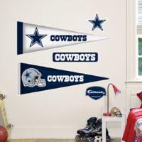 Fathead® NFL Dallas Cowboys Pennant Junior Wall Graphic