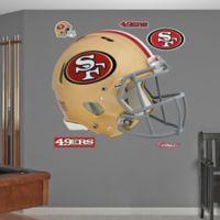 Fathead® NFL San Francisco 49ers Revolution Helmet Wall Graphic