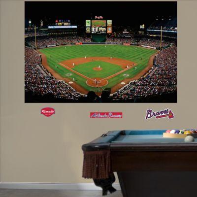 Buy fathead mlb colorado rockies stadium mural wall for Dodger stadium wall mural