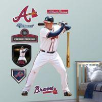 Fathead® MLB Atlanta Braves Freddie Freeman Home Wall Graphic