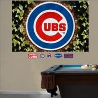 Fathead® MLB Chicago Cubs Ivy Logo Wall Graphic