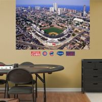 Fathead® MLB Chicago Cubs Stadium Skyline Mural Wall Graphic