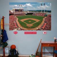 Fathead® MLB Cincinnati Reds Stadium Mural Wall Graphic