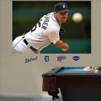 Fathead® MLB Detroit Tigers Justin Verlander Mural Wall Graphic