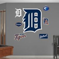 Fathead® MLB Detroit Tigers D Logo Wall Graphic