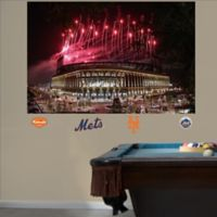 Fathead® MLB New York Mets Fireworks Stadium Mural Wall Graphic