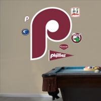 Fathead® MLB Philadelphia Phillies Classic Logo Wall Graphic
