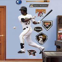 Fathead® MLB Pittsburgh Pirates Andrew McCutchen Home Wall Graphic