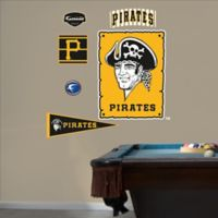 Fathead® MLB Pittsburgh Pirates Throwback Logo Wall Graphic