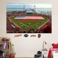 Fathead® MLB San Francisco Giants Flag Stadium Mural Wall Graphic