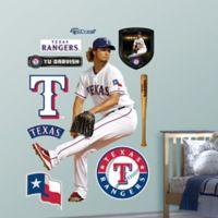 Fathead® MLB Texas Rangers Yu Darvish Home Wall Graphic