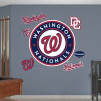 Fathead® MLB Washington Nationals Logo Wall Graphic
