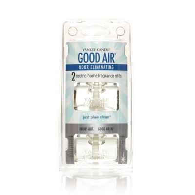 Yankee Candle® Good Air™ Just Plain Clean™ Electric Home Fragrance Unit Refills (Set of 2)