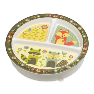 Sugarbooger® by o.r.e Divided Suction Plate in What Did the Fox Eat?  sc 1 st  Bed Bath \u0026 Beyond & Buy Divided Plate from Bed Bath \u0026 Beyond
