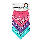 Mustachifier™ Bandana Bibs in Pink/Purple/Mint (Set of 3)