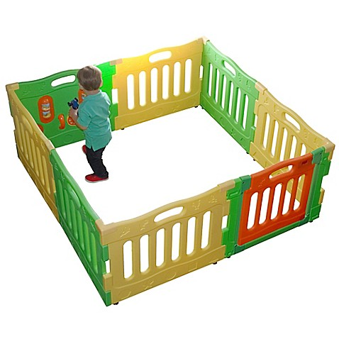 Baby diego playspot playard activity center bed bath for Baby play centre