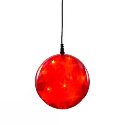 Starfire Sphere LED Light In Red