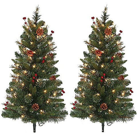 Outdoor christmas decorations pre lit 3 foot pathway for Pre lit outdoor decorations