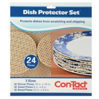 24-Piece Dish Protector Set