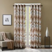 Eton 108-Inch Window Curtain Panel in Clay