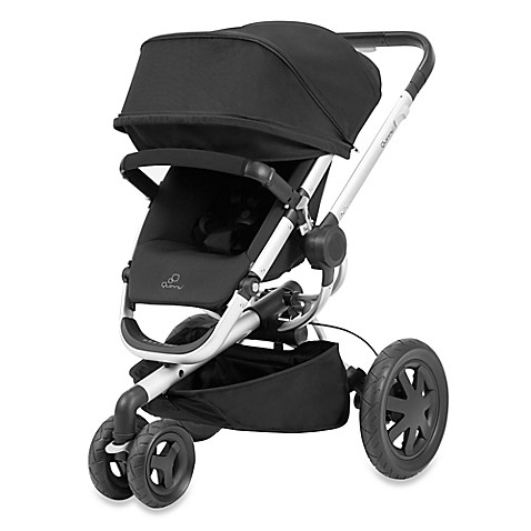 quinny buzz xtra 15 stroller in rocking black buybuy baby. Black Bedroom Furniture Sets. Home Design Ideas