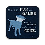 "Dog is Good ""It's All Fun and Games"" Coaster"