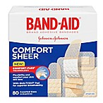 Band-Aid® 80-Count Assorted Sheer Bandages