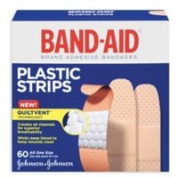 """Johnson's® Band-Aid® Plastic 3/4"""" X 3"""" Inch Bandages (60 Count)"""