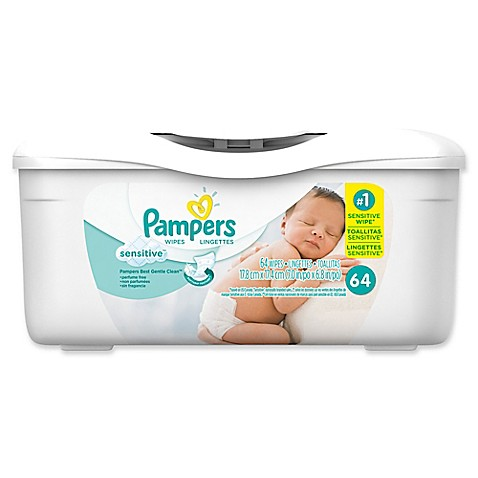 Pampers 174 64 Count Sensitive Wipes Buybuy Baby
