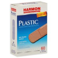 Harmon® Face Values™ 60-Count Plastic 3/4-Inch Adhesive Bandages