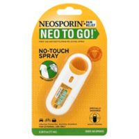 Neosporin® Neo To Go® .26 oz. First Aid Antiseptic Pain Relieving Spray