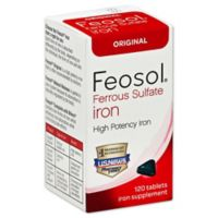Feosol Original 120-Count Iron Tablets