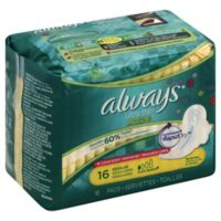 Always Ultra Thin Active™ 16-Count Regular Pads with Wings