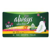 Always Fresh Pads 32-Count Thin Regular Flexi-Wings