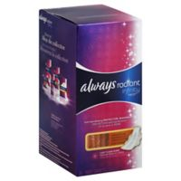 Always Infinity 24-Count Radiant Fresh Overnight Pads With Wings