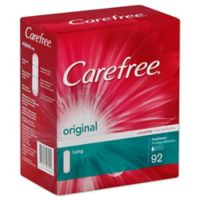 Carefree 92-Count Original Unscented Long Pantiliners