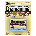 Dramamine® Motion Sickness Relief for Kids 8-Count Chewable Tablets in Grape Flavor