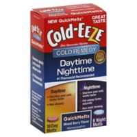 Cold-EEZE® Daytime/Nighttime Cold Remedy 24-Count Quick Melts in Mixed Berry Flavor