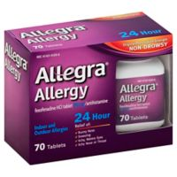 Allegra® Allergy 24-Hour Relief 70-Count Tablets