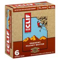 Clif Bar® 6-Pack Crunchy Peanut Butter 2.4 oz. Energy Bar